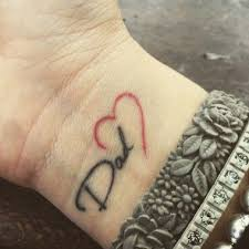 sweet simple to the point lovely tattoo ideas to pay tribute to