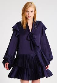 three floor whitford cocktail dress party dress navy women