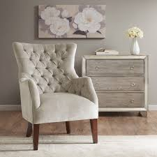 madison park hannah button tufted wing chair ebay