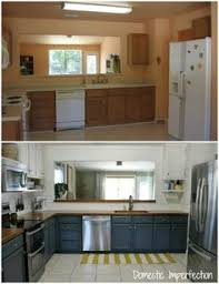 cheap kitchen furniture before and after teeny tiny kitchen cheap makeover what an amazing