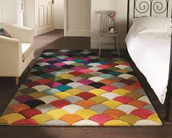 Modern Pattern Rugs by Quality Soft Touch Modern Rugs Multi Colour Designs Funky Patterns