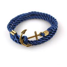 anchor braid bracelet images Bracelet tom hope navy diy wind anchor ancient gold plated wound jpg