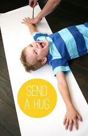 gifts to send in the mail send a hug in the mail be different act normal for the kids