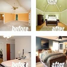 bedroom before and after before and after bedroom renovations master bedroom before after