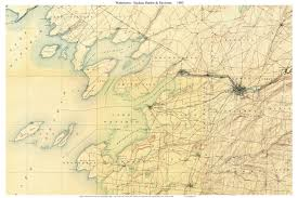 New York State Counties Map by Old Usgs Topo Maps Of Jefferson County New York