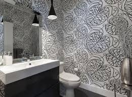 Wallpapers Designs For Home Interiors by Black And White Wallpapers To Help You Finish Decorating