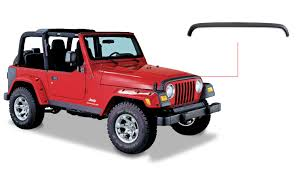 jeep matte black jeep trail armor hood stone guard oe matte black 14006