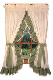 Ruffled Kitchen Curtains Priscilla Curtains Country Curtains Madelyn Curtains Ruffled