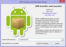 install apk android apk installer and launcher 1 0