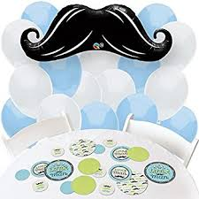 baby shower mustache welcome mustache baby shower balloons