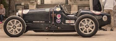 vintage bugatti race car circuit des remparts angouleme tour 2018 classic grand touring