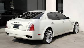 white maserati 2008 maserati quattroporte executive gt automatic stock 5954 for
