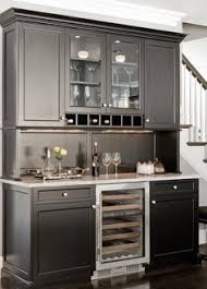 bar hutch with wine fridge google search kitchen redesign