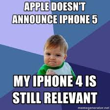Iphone 4s Meme - iphone announces iphone 4s instead of iphone 5 web reacts with