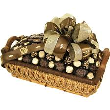 chocolate baskets chocolate basket sympathy and condolence gift baskets at