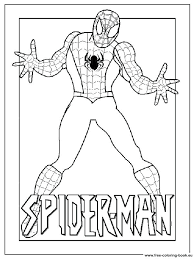 printable coloring pages spiderman spiderman coloring pages free to print free printable coloring pages