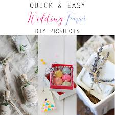 easy wedding favors and easy wedding favor diy projects the cottage market