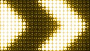 lights on a background seamless loop animation gold
