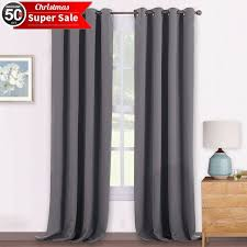 Thermal Energy Curtains Blackout Pencil Pleat Windows Curtains Home Decoration Energy