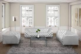 modern silver floor l modern silver leatherette sofa set prime leather sofas