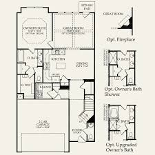 Central Park Floor Plan by Stanton At Central Park In Charlotte North Carolina Pulte