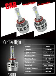 Led Light Bulbs For Headlights by 2015 H8 40w 6000k Cree Led Bulb Car Headlight Fog Light Bulbs Hi