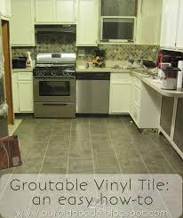 Kitchen Vinyl Floor Tiles by 32 Best Kitchen Floors Images On Pinterest Kitchen Ideas