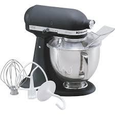 kitchenaid mixer black kitchenaid artisan 5 qt imperial black stand mixer ksm150psbk