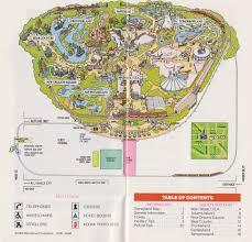 Disney Park Maps Disney Ephemera 1986 Disneyland Souvenir Guide Touringplans Com