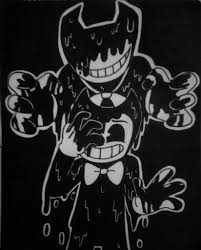 spoopy halloween background monster bendy and the ink machine amino