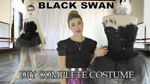 black swan diy costume