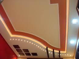 faux plafond led maison villa plafond platre moderne