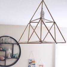Geometric Pendant Light by Friday Faves Lamp Love U2014 Found Kept