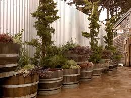 garden design garden design with whiskey barrel planter home