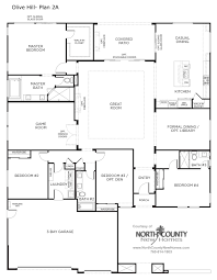 olive hill floor plans new homes in bonsall north county new homes