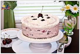 pinay in texas cooking corner chocolate cake with cherry cream