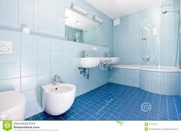 modern blue bathroom stock image image 17701511