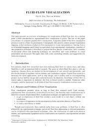 fluid flow visualization pdf download available