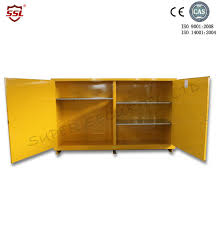 Horizontal Storage Cabinet Horizontal Inflammable Storage Cabinets With 2 Manual Doors