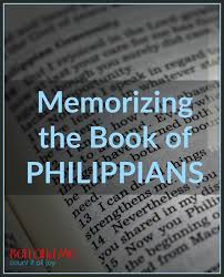 Comforting Messages From The Bible Faith Memorizing The Book Of Philippians Comforting
