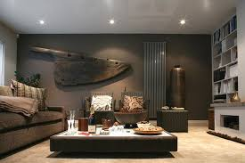 bedroom wall ideas modern imanada gray paint low bed masculine