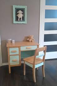 chaise bebe table ensemble table bureau et chaise enfant étoile vintage gris bebe