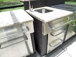 prefab outdoor kitchen island outdoor kitchen island with sink master forge 3 burner modular