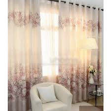 Shabby Chic Window Treatment Ideas by Beige Flowers Country Style Eco Friendly Curtains Window