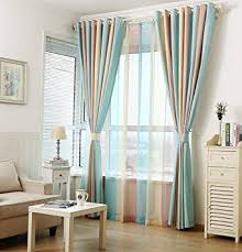 Window Sheer Curtains Zwb Fashionable Rod Pocket Striped Window Sheer