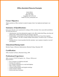 Resume Examples For Jobs With No Experience Medical Assistant Resume With No Experience Free Resume Example