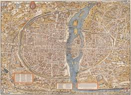 Maps France by Paris I Old Maps Of Paris Year 1550 Map 1500 U003e 1600 Luther