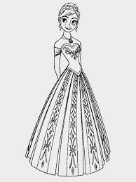princess anna frozen coloring pages princess frozen coloring page