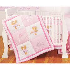 Walmart Baby Crib Bedding by Crib Sets Ballerina Bear 4 Piece Crib Bedding Set Bedding