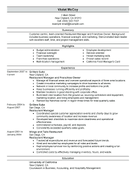 free bartender resume templates resume template and professional